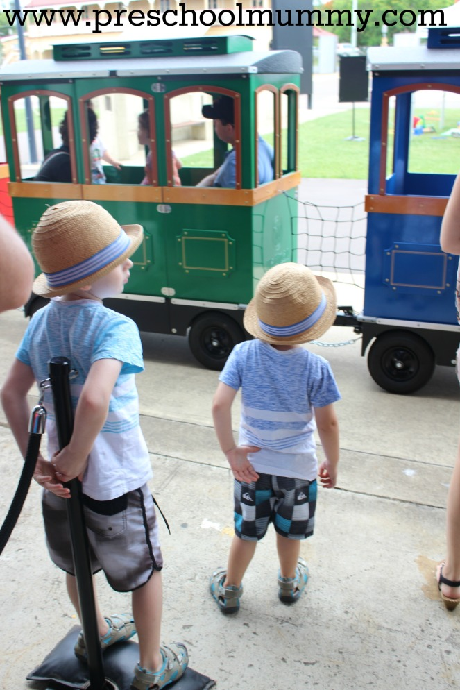 Seriously, who can resist a ride on a miniature train?